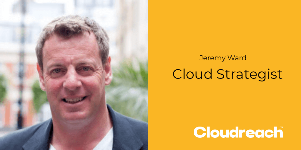 A Face In The Cloud - Jeremy Ward, Cloud Strategist