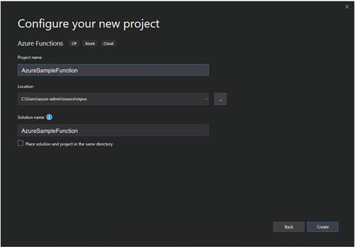Visual Studio 2019 Project Setup
