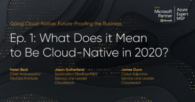 Going Cloud Native webinar, episode 1